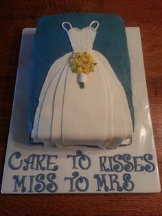 love the wording on this bridal shower cake a diffe picture