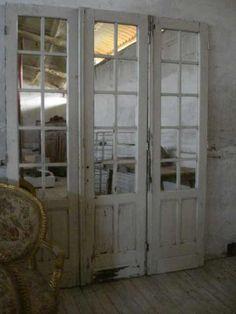 old door, new room divider