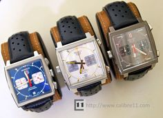 Watches from the 60's. Very cool look.