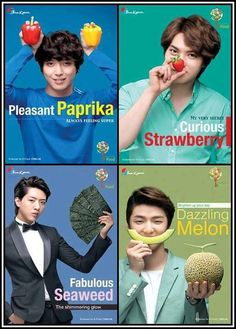 CN Blue love the seaweed seasoned and with rice
