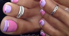 Colorful french tip perfect for summer #nails #french #summer | Nails | Pinterest | French Tips, Nail French and Summer Nails