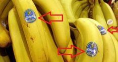 Buďte opatrní, když kupujete banány. Čtěte pozorně, co znamenají tyto samolepky