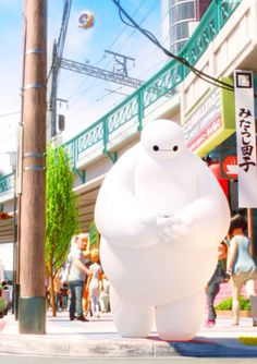 Big Hero 6 - Baymax fanart and mashups Walt Disney, Disney Pixar, Cute Disney, Disney And Dreamworks, Disney Animation, Disney Art, Disney Characters, Hiro Big Hero 6, The Big Hero