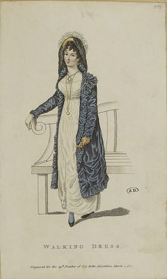 A very fine pelisse indeed, 1812 belle assemblee