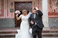 #JDaudiovisuals - Xavier y Cristina #boda Salida Iglesia #Viladecans