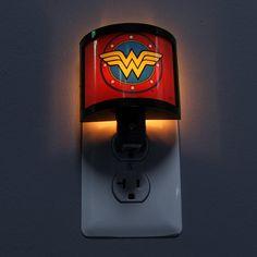 Wonder Woman Night Light