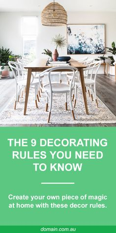 The nine decorating rules you need to know Home Interior Design, Interior Styling, Decorating Blogs, Interior Decorating, Latest Design Trends, Bohemian House, Simple Shapes, Dream Decor, Decor Styles