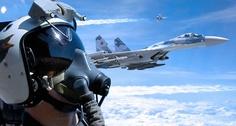 Su-35 Flight