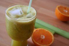 Sellerie Orangen Smoothie