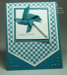 Wishes Your Way Pinwheels by darhm - Cards and Paper Crafts at Splitcoaststampers