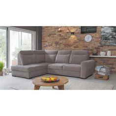 Rohová sedací souprava Level je moderní rozkládací sedací souprava. Outdoor Sectional, Sectional Sofa, Couch, Outdoor Furniture, Outdoor Decor, Home Decor, Modular Couch, Settee, Decoration Home