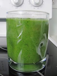 Dr Oz green drink.
