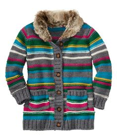 Love this Stormy Gray Cozy Up Cardigan - Infant, Toddler & Girls on #zulily! #zulilyfinds