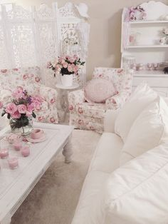 Shabby chic home ~*.'