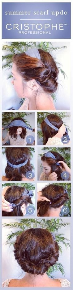 Hairstyle For Busy Mornings - Click image to find more hair posts