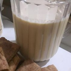 Trinidad's Ponche-de-Creme (Punch with Cream) Recipe Ponche Crema Recipe, Traditional Christmas Drinks, Caribbean Recipes, Caribbean Food, Trinidadian Recipes, Trini Food, Rum Cream, Party Food And Drinks, Fun Drinks