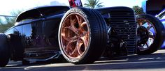 One of a kind 24'' 3D machined wheels on Durty 30 model A roadster #sema2016 #custom