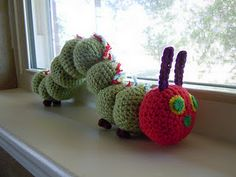 The Very Hungry Caterpillar free pattern.