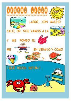 Poemas y rimas infantiles para niños