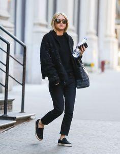 Ashley Olsen street style