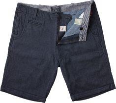 WOOLRICH JOHN RICH & BROS.  Indigo Stripe Shorts