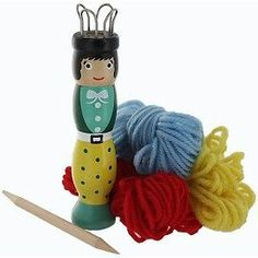 Mini French Knitting Doll, Brand New