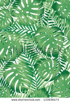 Tropical leaves by Adam Fahey Designs, via Shutterstock