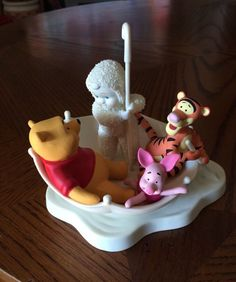 Dept 56 Snowbabies - Blustery Day With Pooh - 796019
