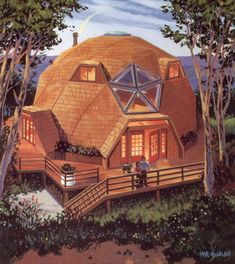 5 dome house display models that are resistant to natural disasters - architecturian Shed Plans, House Plans, Dome Structure, Geodesic Dome Homes, Dome House, Building A Shed, Green Building, Earthship, Round House
