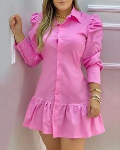 Dress Clothes For Women, Casual Dresses For Women, Short Dresses, Trend Fashion, Look Fashion, Fashion Outfits, Corporate Outfits, Latest African Fashion Dresses, Straight Dress