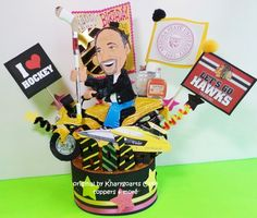 MOTORCYCLE CAKE TOPPER created to look like you | kharygoarts - Children's on ArtFire