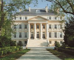 Chateau Margaux that used to belong to Bernard de Gineste....