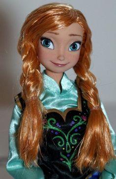 Disney Frozen Anna OOAK doll repaint