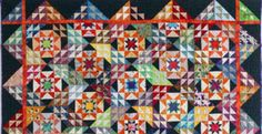 No-Waste Flying Geese: FREE Block Builders Workshop Video Lesson - The Quilting Company Winter Quilts, Fall Quilts, Scrappy Quilts, Amish Quilts, Halloween Quilt Patterns, Halloween Quilts, Bonnie Hunter, Quilting Projects, Quilting Designs