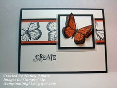 Stampin All Night #Best of Butterflies, #RemARKable Stampers Blog Tour, #Stampin' Up!