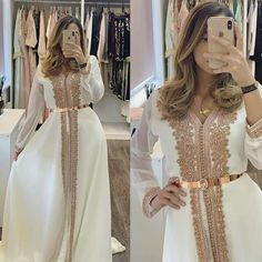 Abaya Fashion, Fashion Dresses, Muslim Fashion, Fashion Goth, Steampunk Fashion, Morrocan Dress, Muslimah Wedding Dress, Dress Muslimah, Caftan Dress
