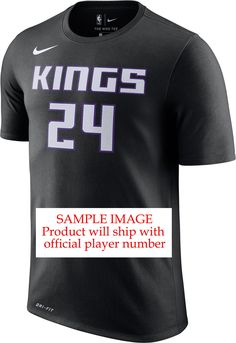 f5a3584dbd9e Nike Men s Sacramento Kings Marvin Bagley III  35 Dri-FIT Black T-Shirt