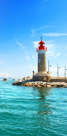 Lighthouse of St. Tropez, France | Amazing Photography Of Cities and Famous Landmarks From Around The World