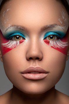 Beauty Retouching - Aleks Mind Photography by Amira Retouching, via Behance