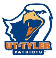 Patriots, University of Texas at Tyler (Tyler, Texas) Div III, American Southwest Conference #Patriots #TylerTexas #NCAA (L11061)
