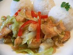 Kuře á la čína Chicken, Meat, Recipes, Food, Asia, Eten, Recipies, Ripped Recipes, Recipe