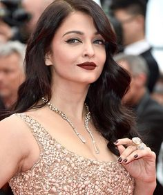 Aishwarya Rai Bachchan's Beauty Look at Cannes  FAB or DRAB?  #bollywood #style #fashion #beauty #bollywoodstyle #bollywoodfashion #indianfashion #celebstyle #aishwaryarai #aishwaryaraibachchan #eliesaab #couture #cannes2016