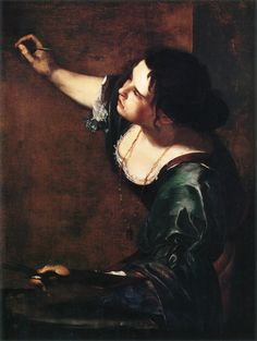 Auto portrait 1630 (Artemisia Gentileschi)