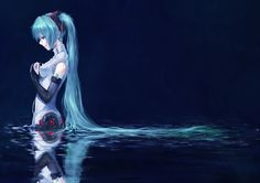 Browse VOCALOID Append Hatsune Miku collected by Aoi Hana and make your own Anime album. Hatsune Miku Hd, Hatsune Miku Wallpaper, Photo Wallpaper, Wallpaper Backgrounds, 1080p Wallpaper, Laptop Wallpaper, Screen Wallpaper, Kaai Yuki, Anime Triste