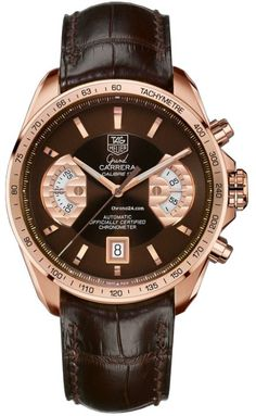 TAG Heuer Grand Carrera CAV514C.FC8171 $14,500 #TAGHeuer #watch #watches #luxury…
