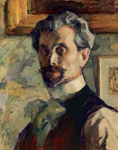 Self-Portrait, 1911-1913   by Leonid Osipovich Pasternak (1862-1945) :: the father of the poet and novelist Boris Pasternak ( who wrote Dr. Zhivago ).