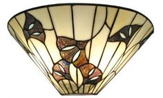 Pair Tiffany Style Stained Glass Contemporary Wall Sconces Light Wall Fixture | eBay