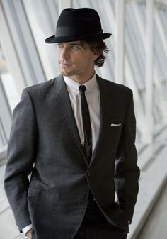 Matt Bomer in vintage Sy Devore - Style and class