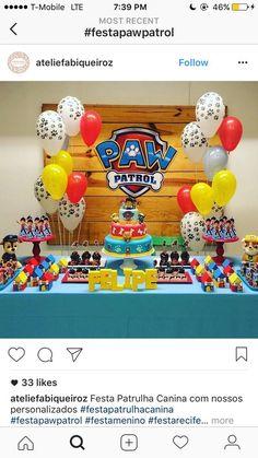 I➨ Entra aquí para encontrar ideas originales para organizar una fiesta de cumpleaños temática de la Patrulla Canina. ¡¡Es muy divertida y fácil de hacer!!