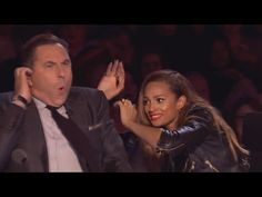 Posh violinist Lettice Rowbotham gives the Judges something new | Britain's Got Talent 2014 - YouTube